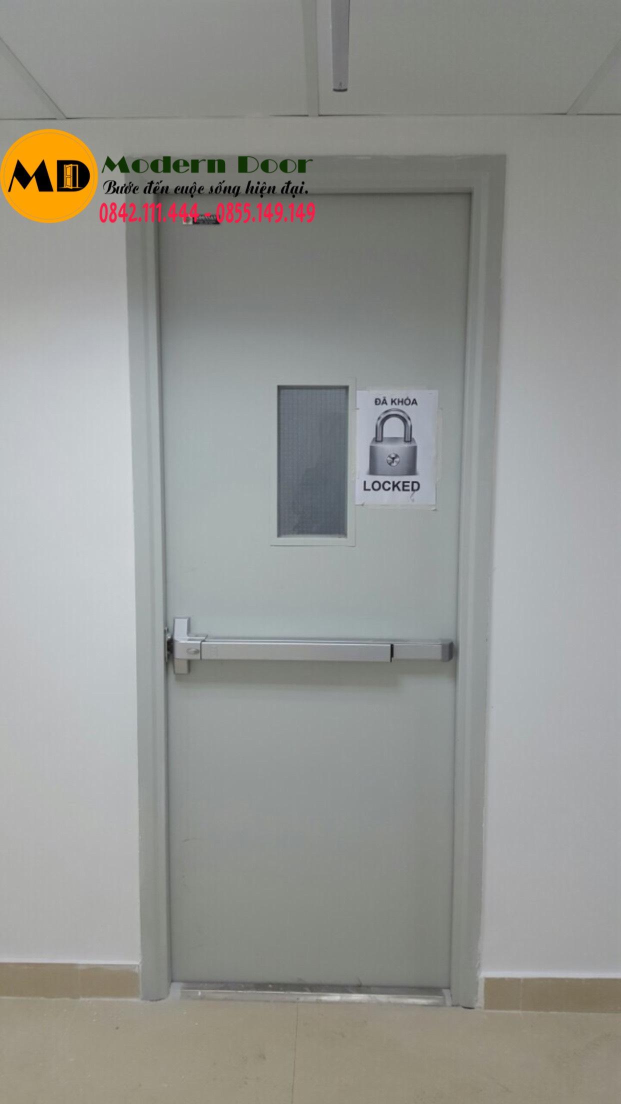 các loại cửa chống cháy