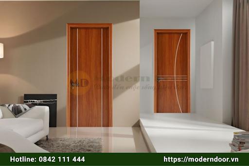Các mẫu cửa gỗ chịu nước sử dụng cho nhà tắm