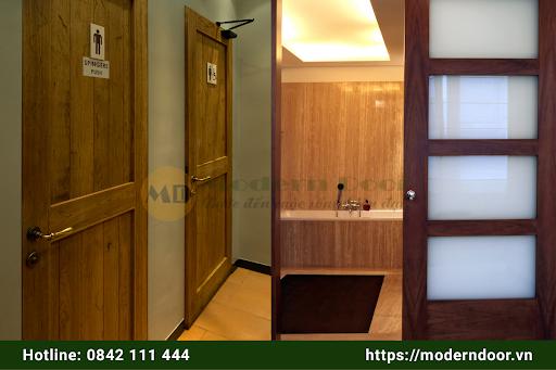 Cửa gỗ HDF Mordern Door chất lượng cao