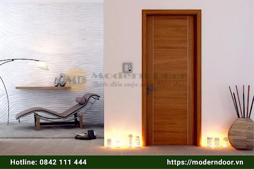 Cửa gỗ cao cấp HDF Veneer