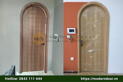 Cửa gỗ công nghiệp MDF Melamine
