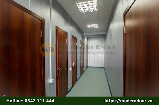 Cửa văn phòng Abs mẫu 2