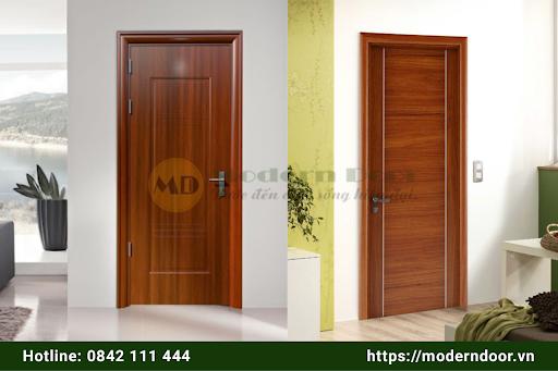 Mẫu cửa gỗ chống cháy tinh xảo