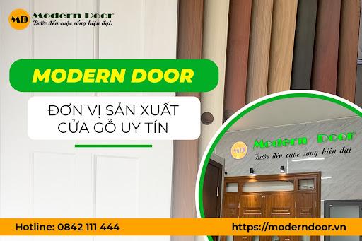 Modern Door - đơn vị sản xuất cửa gỗ công nghiệp uy tín