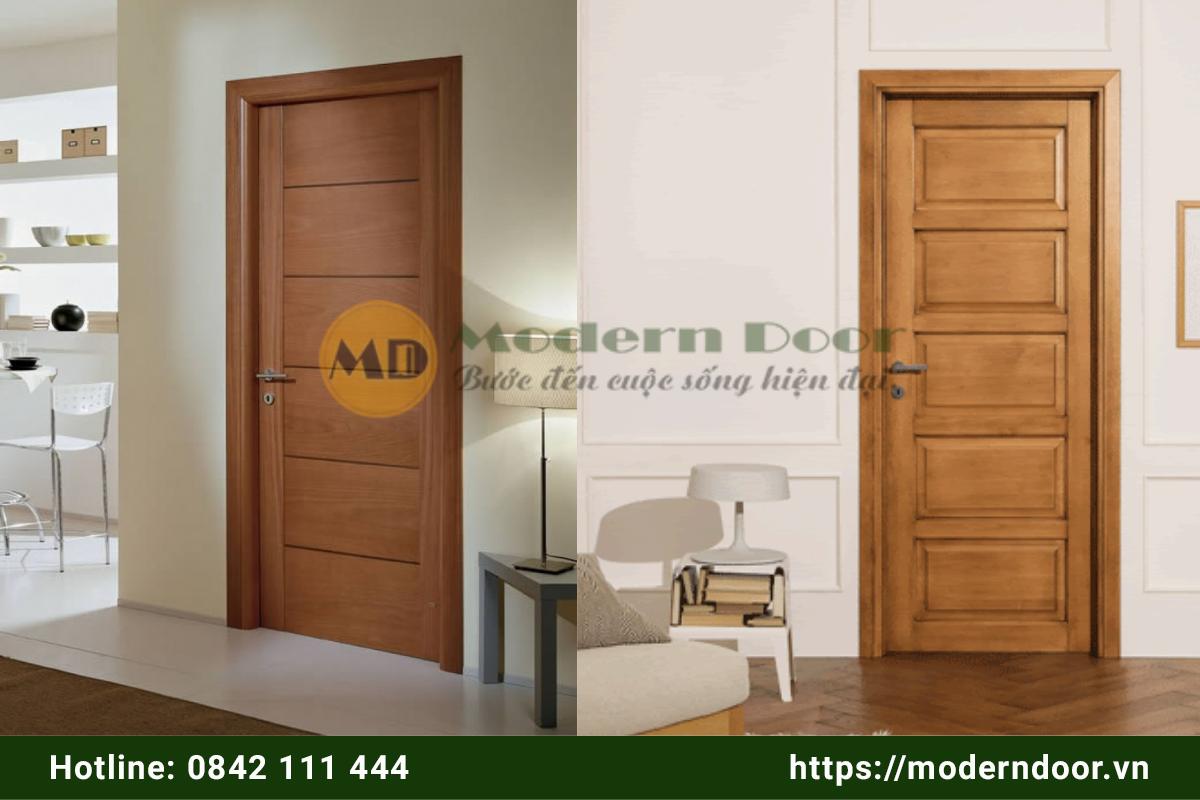 Cửa gỗ công nghiệp giá rẻ Phan Thiết