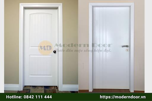 Các mẫu cửa HDF Modern Door