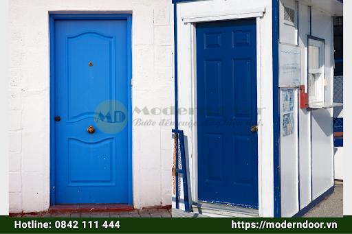 Các mẫu cửa gỗ HDF Modern Door