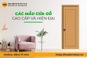 Cửa gỗ cao cấp – hiện đại – giá tốt tại Modern Door