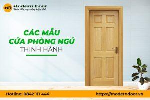 Top mẫu cửa phòng ngủ đẹp nhất tại Modern Door