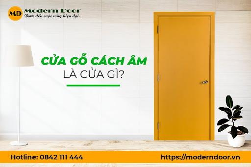 cửa gỗ cách âm