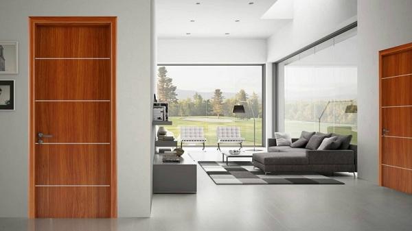 Cửa gỗ công nghiệp phù hợp với mọi phong cách
