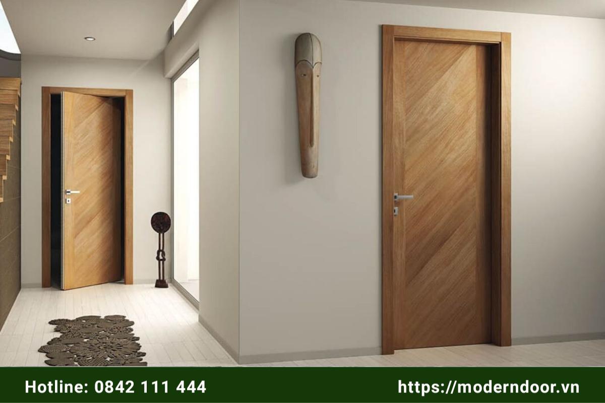 cửa khách sạn bằng gỗ công nghiệp mdf