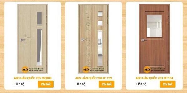 cửa gỗ ABS giá rẻ, bền đẹp qua thời gian