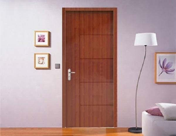 Cửa phòng ngủ gỗ công nghiệp