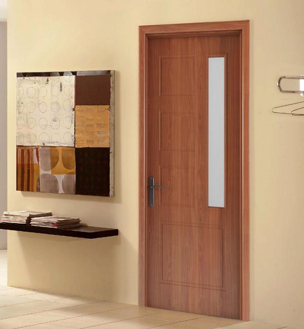 Mẫu cửa phòng ngủ gỗ công nghiệp đẹp