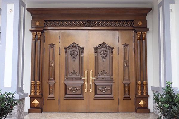 Tuổi thọ cửa thép vân gỗ Goonsan cao