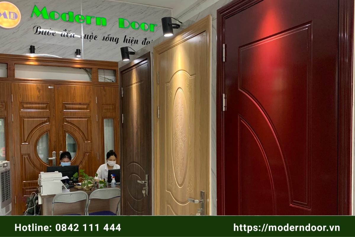 cửa gỗ công nghiệp đẹp nhất Đà Nẵng