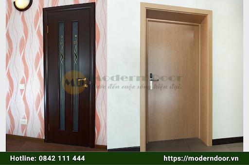 Mẫu cửa HDF Modern Door đẹp mắt