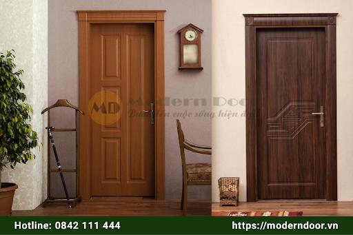 Mẫu cửa gỗ HDF Modern Door cao cấp chất lượng