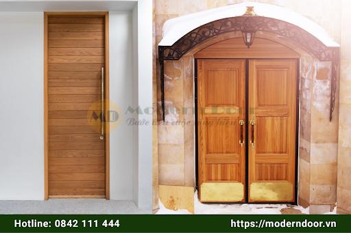 Mẫu cửa gỗ HDF Modern Door cao cấp