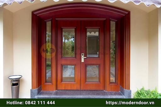 Mẫu cửa gỗ Modern Door đẹp mắt