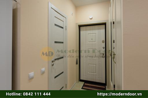 Mẫu cửa gỗ HDF cao cấp
