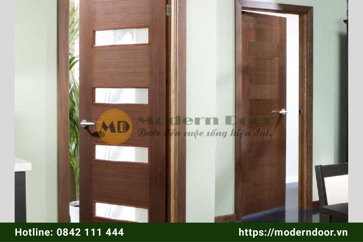 Mẫu cửa gỗ công nghiệp cao cấp tại Phan Thiết