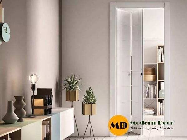 Mẫu cửa gỗ phòng ngủ đẹp 2021