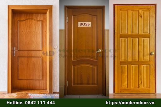 Tham khảo các mẫu cửa gỗ HDF Modern Door cao cấp