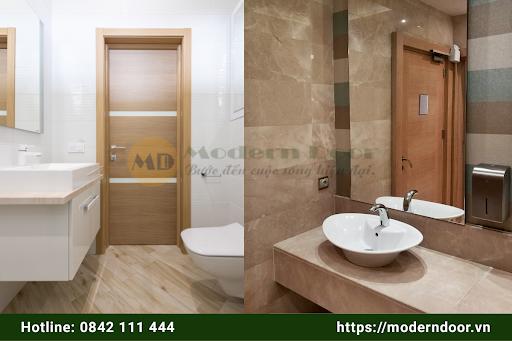 Tham khảo cửa gỗ HDF Modern Door
